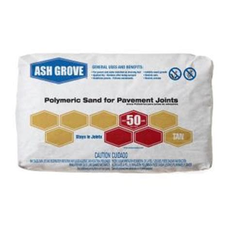 ash grove 50 lb polymeric sand for pavement joints 363 50