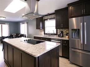good What Kind Of Kitchen Cabinets Are In Style #1: Brown-Kitchen-Cabinets-with-Grey-Walls-Ideas.jpg