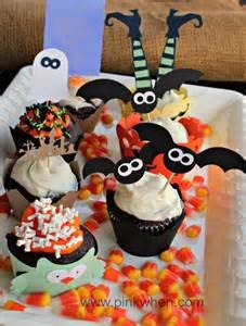 Cute Halloween Cupcake Decorating Ideas Halloween Cupcake Ideas Pinkwhen