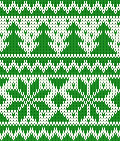 christmas knit wallpaper green christmas knitting pattern background vector