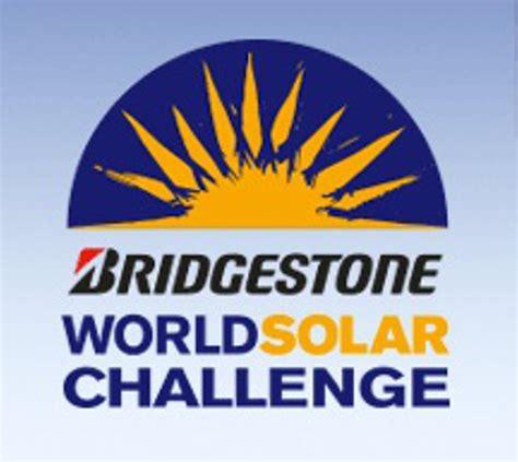 solar challenge australia bridgestone serves as title sponsor for the 2015 world