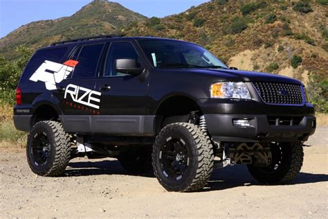 2003 ford expedition lift kit rize 2003 06 ford expedition 4wd 8 quot lift kit 4x4