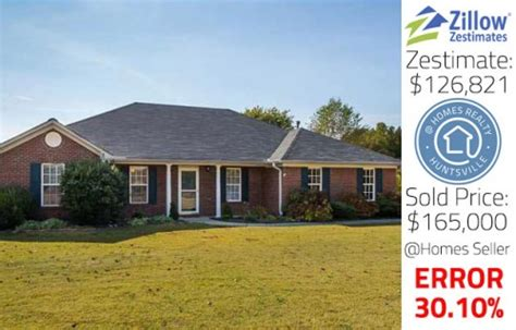 zillow zestimates huntsville alabama