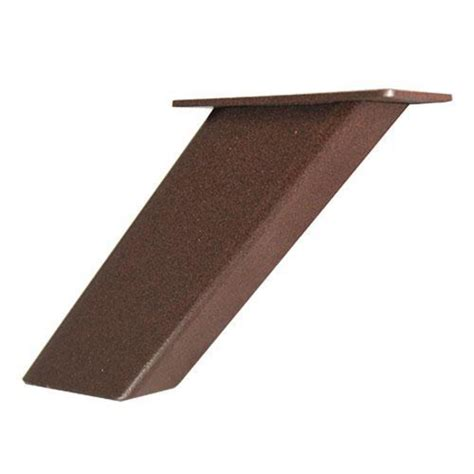 Floating Countertop Supports by Federal Brace Noda Slanted Post Support For Floating Bar