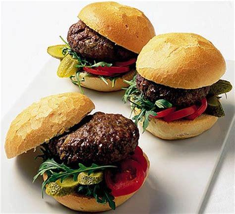 Handmade Burger Recipe - brie burgers food