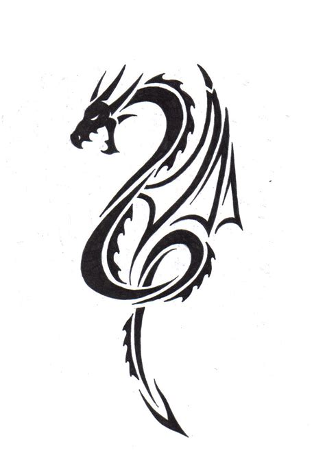 small tribal dragon tattoos tattoos and designs page 36