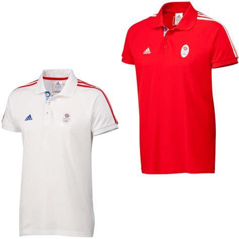 Polo Shirt Adidas Marron wiggle adidas olympics 2012 team gb osp ss polo shirt t shirts