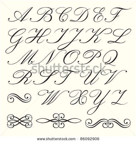 lettering tutorial italiano 20 best old handwriting styles images on pinterest