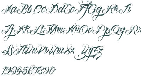 tattoo font recognition fonts font information 5464677 171 top tattoos ideas