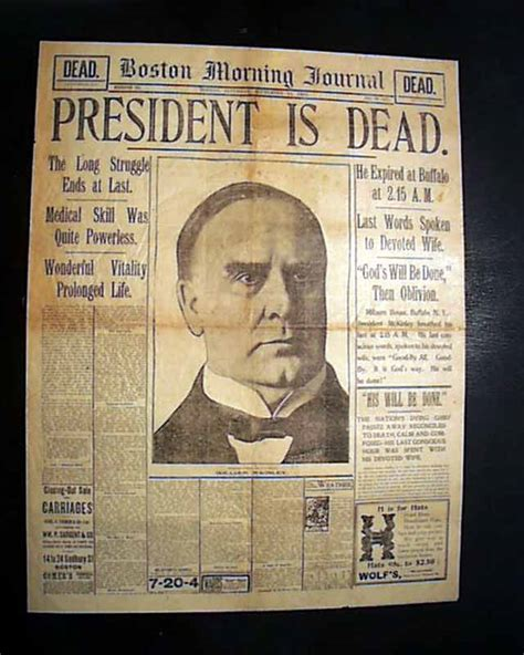 president who died in a bathtub september 14 1901 mckinley died teddy roosevelt