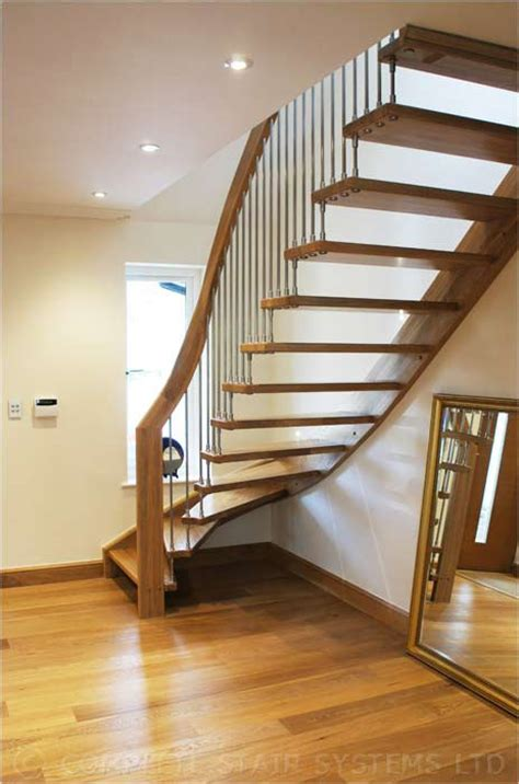 Quarter Turn Stairs Design Modern Staircase Botley Spiral Staircases And Staircases