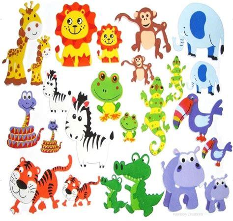 Animal Stickers foam animal stickers children s craft supplies foam