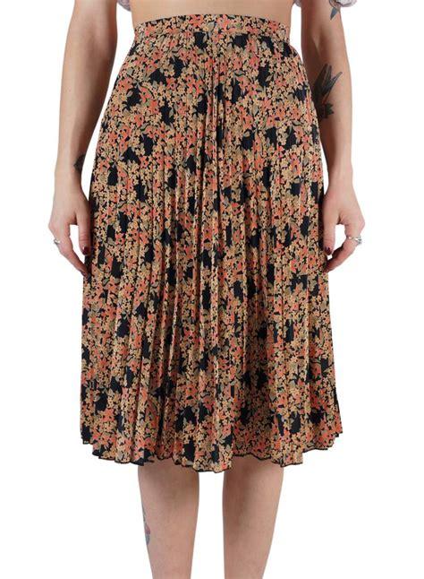 Summer Skrit For Vintage pleated skirt rerags vintage clothing wholesale