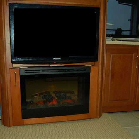 rv with fireplace fireplaces rv renovations by classic coach works