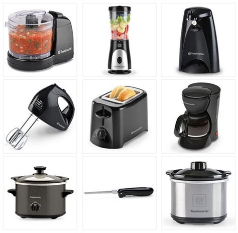 small kitchen appliances on sale kohls toastmaster small kitchen appliances blender hand