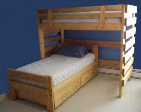 White Full Size Loft Bed Loft Beds 1 800 Bunkbeds