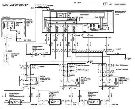 97 ford f150 power window wiring diagram get free image