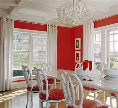 red dining rooms southgate residential the ubiquitous red dining room
