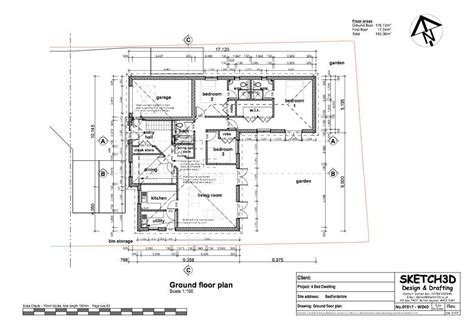 new build floor plans exle self build bungalow plans build to let
