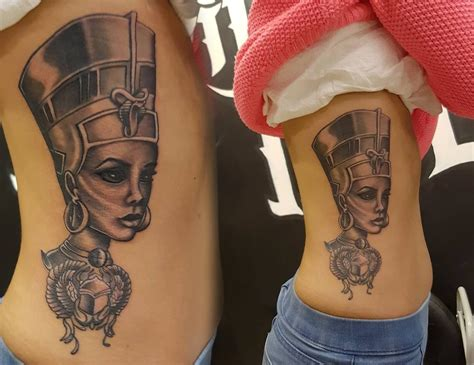 nefertiti tattoo design would do king tut though tattoos piercings