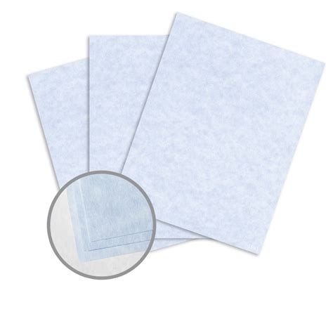 cardstock for card blue card stock 8 1 2 x 11 in 65 lb cover vellum 30
