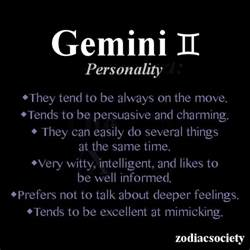 gemini traits tumblr