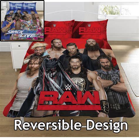 wwe kids bedroom wwe superstars single and double duvet cover sets kids bedroom bedding ebay