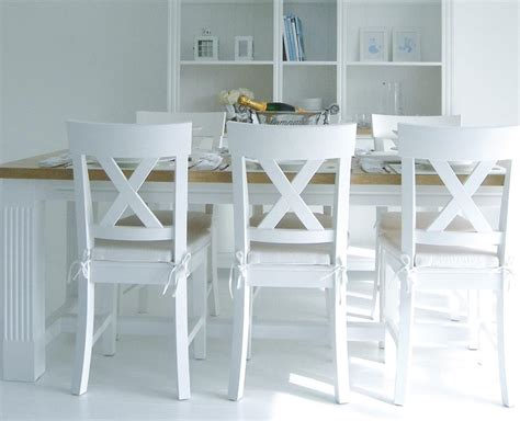 top fancy white and wood white wood dining chairs home furniture design