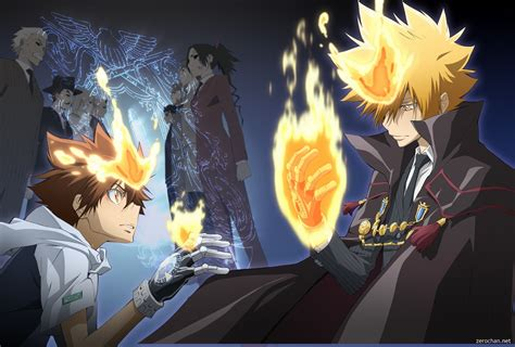 wallpaper anime reborn katekyō hitman reborn full hd wallpaper and background