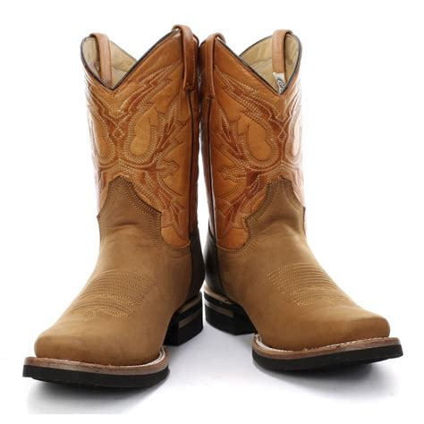 cowboy boots uk grinders el paso cowboy boot brown