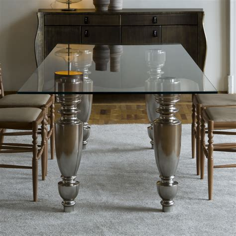 Italian Glass Dining Tables Luxury Dining Tables Exclusive High End Designer Dining Tables