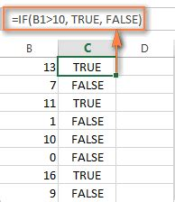 excel format values where this formula is true how to use if function in excel exles for text
