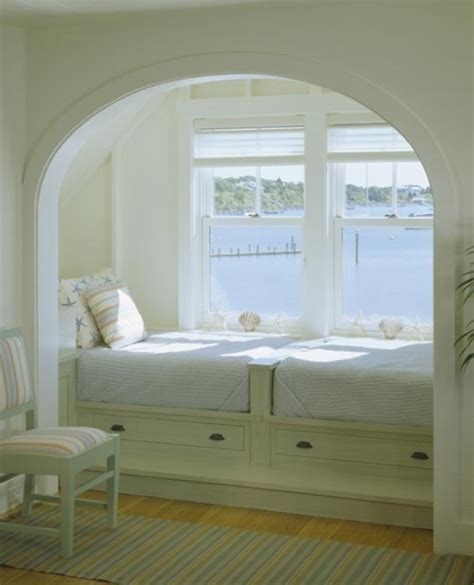 Window Beds by Great Sleeping Alcove Content In A Cottage
