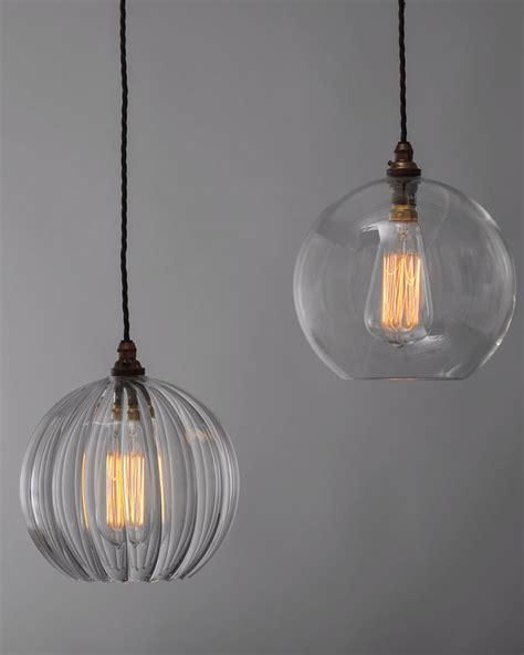 Clear Glass Pendant Lights For Kitchen Best 25 Clear Glass Pendant Light Ideas On The Table Lighting Kitchen Pendant