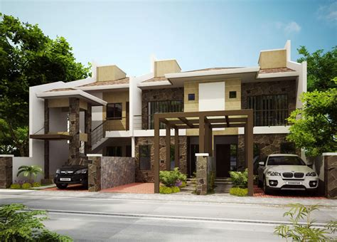 High End House Plans stunning duplex house plans pinoy house plans