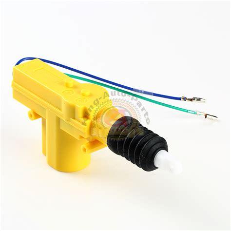 Alarm Motor Wm universal high power door lock actuator motor 2 wire 12v car truck alarm ebay