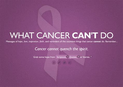 cancer quotes hope quotesgram