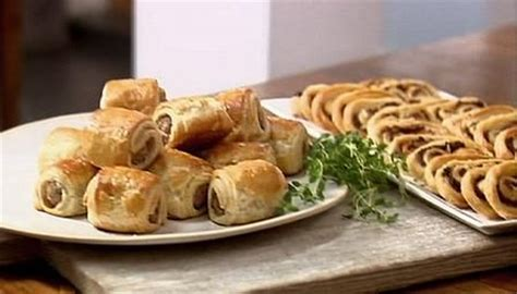 puff pastry canape ideas how to simple puff pastry canap 233 s by lorraine pascale