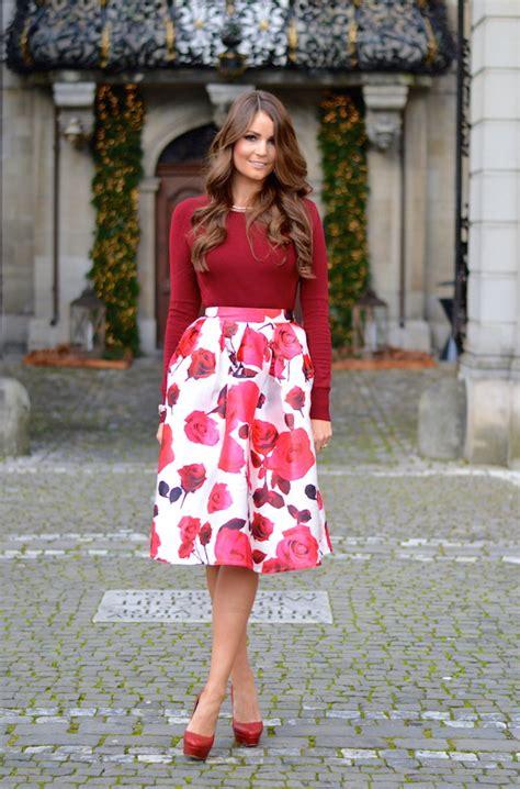 10 ways to wear knee length skirts 2018 fashiontasty