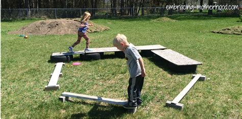 how to make a backyard obstacle course how to make a backyard obstacle course embracing motherhood