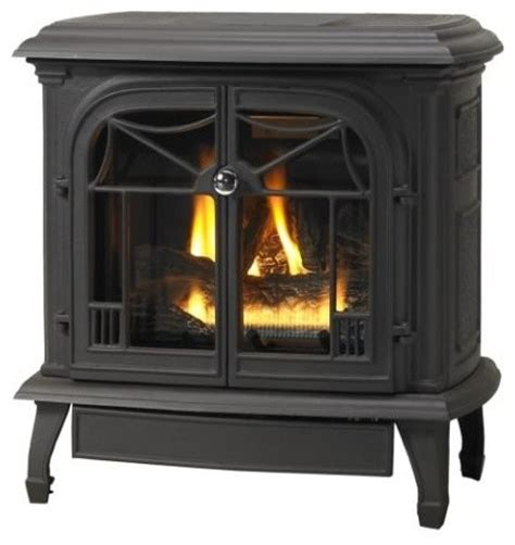 Propane Freestanding Fireplace Stove by Customizable Cast Iron Stove With Gas Burner System