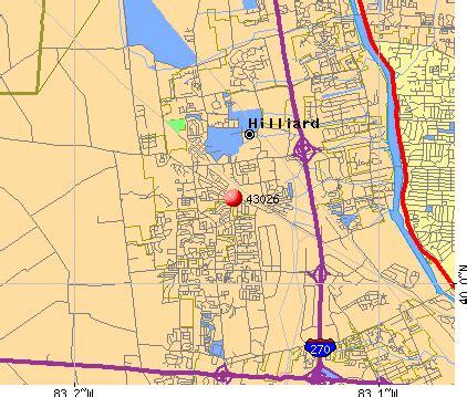 Hilliard Ohio Map by 43026 Zip Code Hilliard Ohio Profile Homes