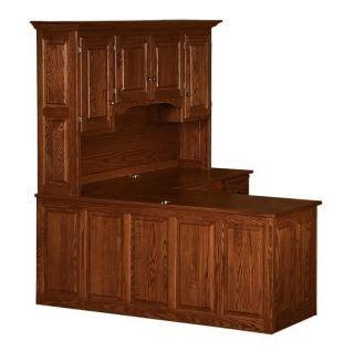 amish corner computer desk amish rolltop desk hutch home office furniture solid wood