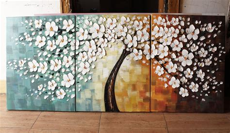Mosaic Bathroom Ideas by Happy Tree Group Canvas Art Wall Landscape Paintingmuseum Quality Painting Handmade Abstract