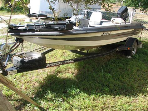 stratos boats hull truth 1990 16 stratos bass boat motor trailer the hull truth