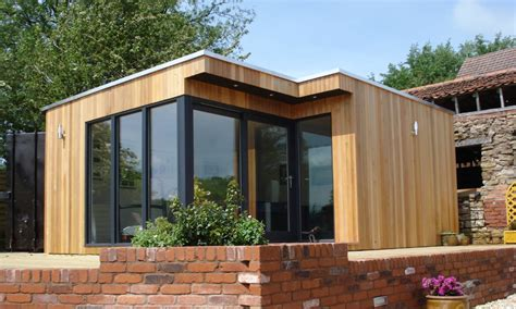 building with sips sauna home spa garden lodges