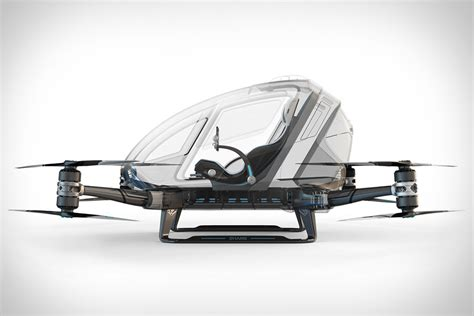 Drone Ehang ehang manned drone uncrate