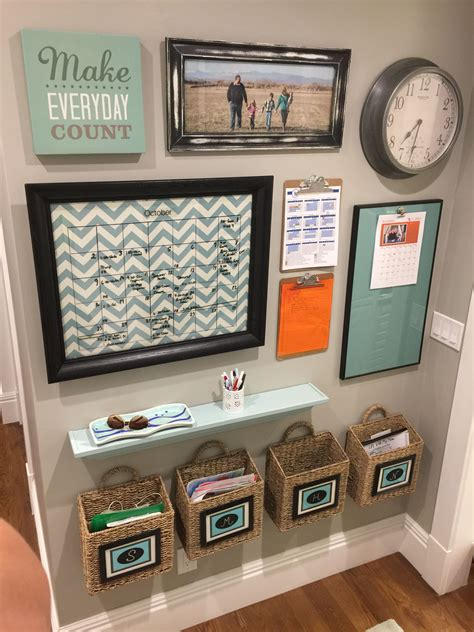 kitchen office organization ideas 15 family command centers family command center center