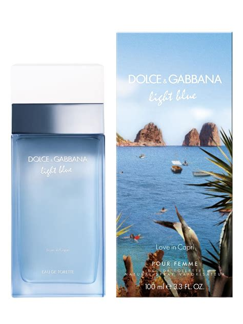dolce and gabbana new light blue light blue love in capri dolce gabbana perfume a new