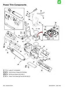 40hp mercury tilt trim parts diagram mercury auto wiring
